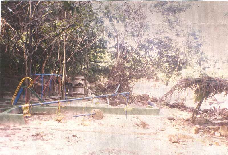 Situazione dopo alluvione