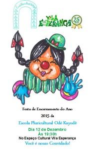 Festa Encerramento 2015