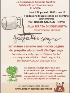 Fagioli e Sogno 28.1.2019