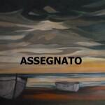 Paesaggio11 70x50 mare al tramonto con barche assegnato JPG