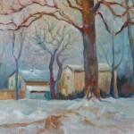 Paesaggio13 Sotto la neve