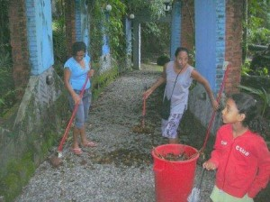 Limpeza da Vila