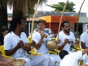 Roda de Capoeira - Medonha, Mestre Cabelo e Gustávio