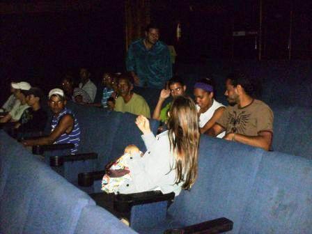Besouro, o Filme - praticamente uma sessão particular