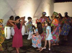"""Ajeun Lobá: """"Comida para o Rei"""" - Roda de Conversa - """"A Boca Multicultural Brasileira"""" e Samba de Roda"""