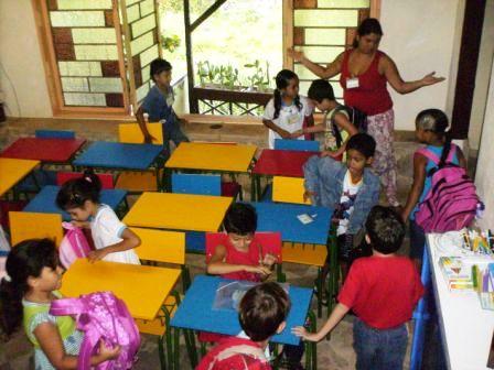 1° dia de aula na nova Escola Pluricultural Odé Kayodê