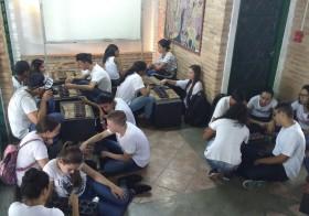Estudantes de Guia de Turismo visitam a Vila Esperança