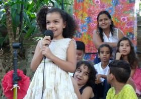"""Poesia da Vila, Vila da Poesia"" no quintal da Escola Pluricultural Odé Kayodê"