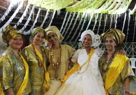 Afoxé Ayó Delê, um desfile de alegria, cor e amor.
