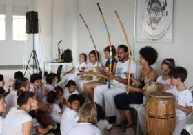 Capoeira na Semana Nacional de Ciência e Tecnologia (Secitec) do IFG