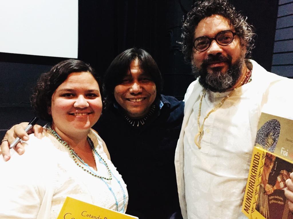 Tietando o Daniel Munduruku