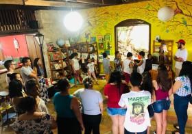 OJALAYÉ (mercado do mundo) encerra a semana da consciência negra na Escola Pluricultural Odé Kayodê