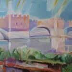 Verona5 50x32 Ponte di Castel Vecchio 1988 JPG