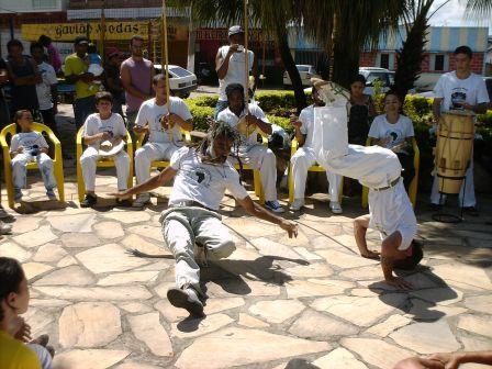 Roda de Capoeira com o Mestre Cabello