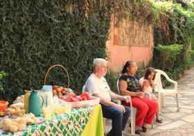 Café da manhã com os vizinhos