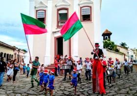 """""""Vila, lá"""" no Natal na Praça do Coreto"""